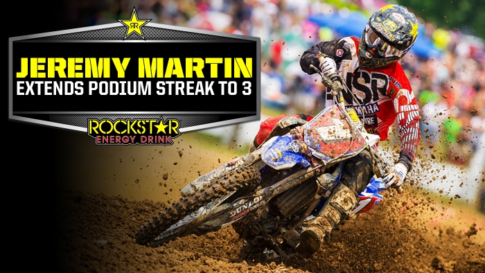 Jeremy Martin Collects 3rd Straihgt Podium