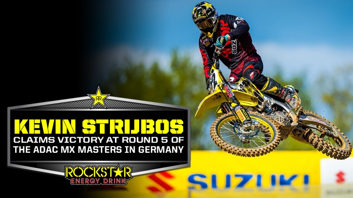 Kevin Strijbos Continues Success with ADAC MX Masters Win