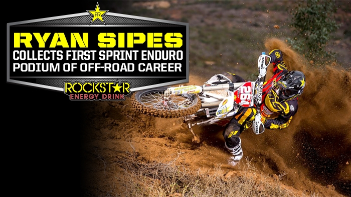 Ryan Sipes Gets on the Box In Sprint Enduro Race