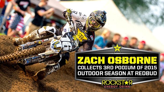 Zach Osborne Back on Podium in Buchanan
