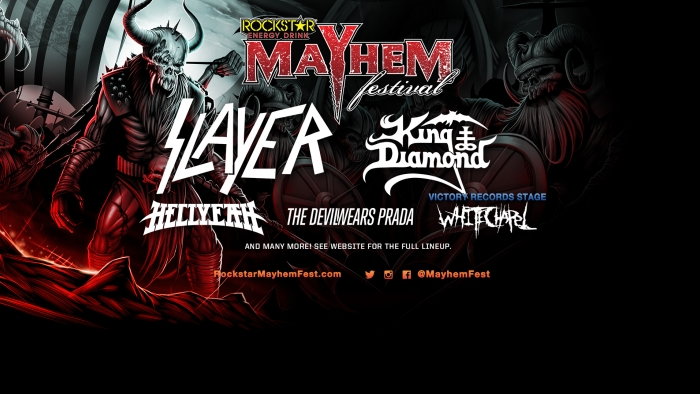 Rockstar Energy Drink Mayhem Festival Kicks Off!