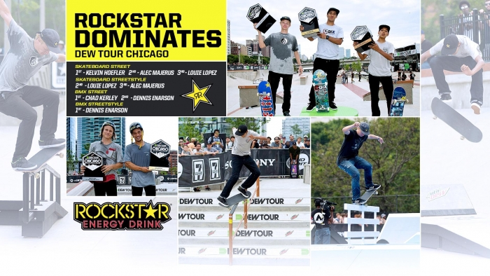 Rockstar Dominate Dew Tour Chicago!