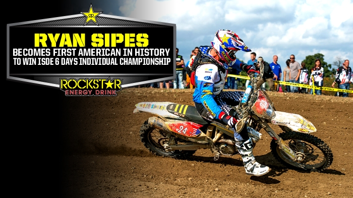 Ryan Sipes Claims First Ever US Win at 6 Days!