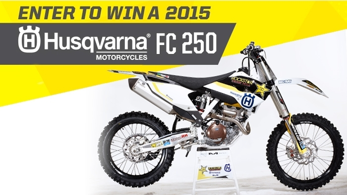 ROCKSTAR & CIRCLE K GREAT LAKES HUSQVARNA SWEEPSTAKES