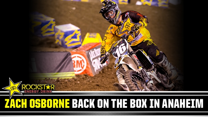 Zach Osborne a Strong 2nd at A2