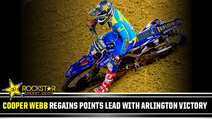Cooper Webb Back on Top In Arlington