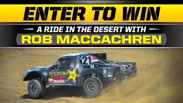 ROCKSTAR NATIONAL OFF ROAD SWEEPSTAKES