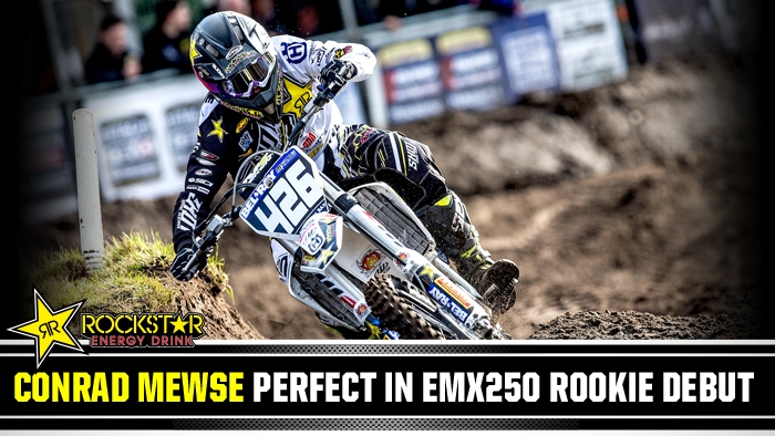 Conrad Mewse Perfect in EMX250 Rookie Debut