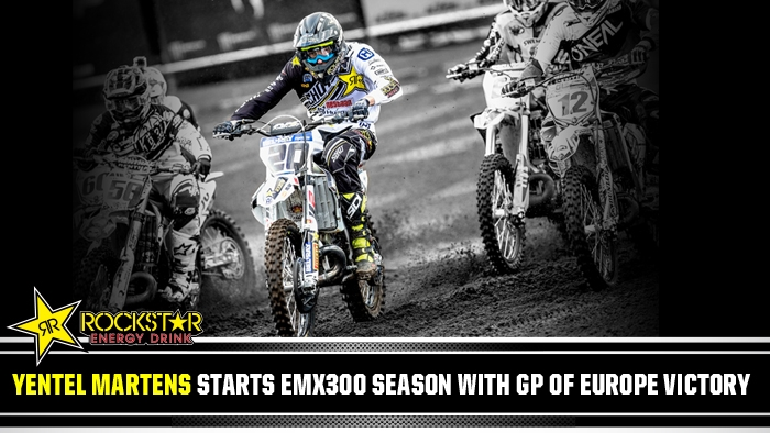 Yentel Martens Starts EMX300 Season with GP of Europe Victory