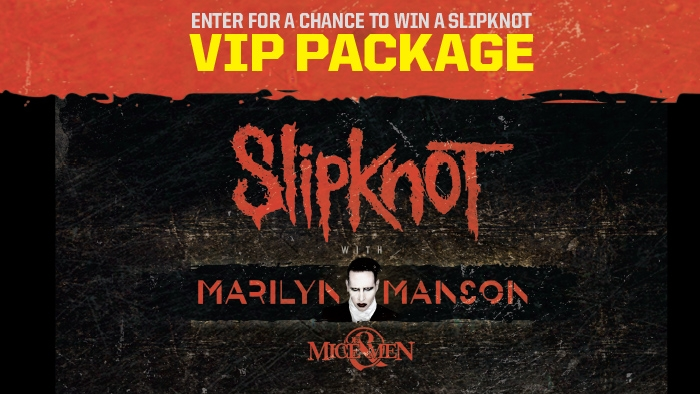 ROCKSTAR AND COBBLESTONE SLIPKNOT SWEEPSTAKES