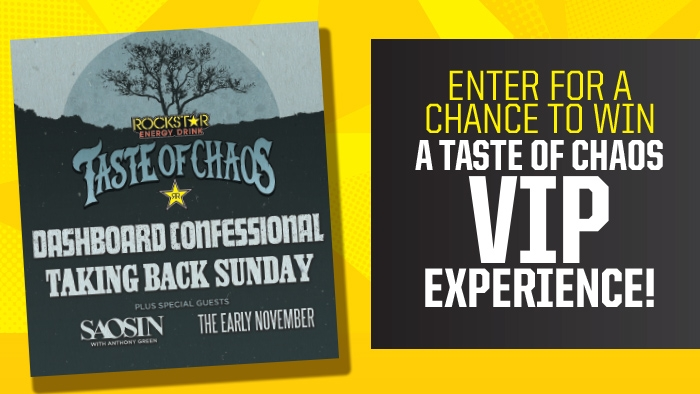 ROCKSTAR AND G&M FOOD MART TASTE OF CHAOS SWEEPSTAKES