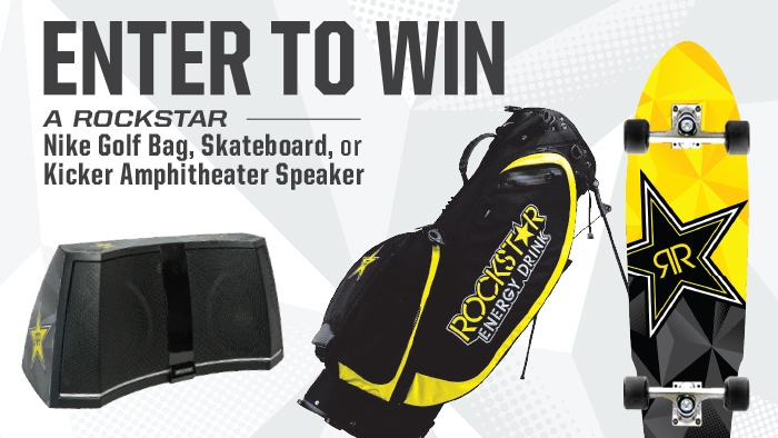 ROCKSTAR & GREEN VALLEY GEAR UP FOR SUMMER SWEEPSTAKES