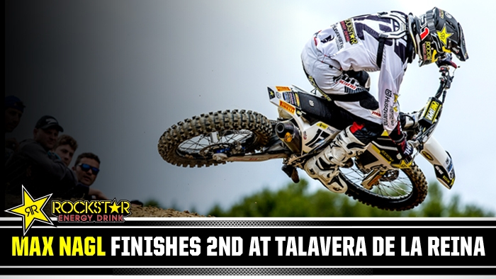 Max Nagl on the Podium in Spain