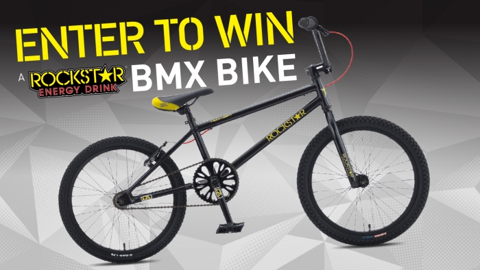 ROCKSTAR & UNIVERSITY MOBILE BMX SWEEPSTAKES