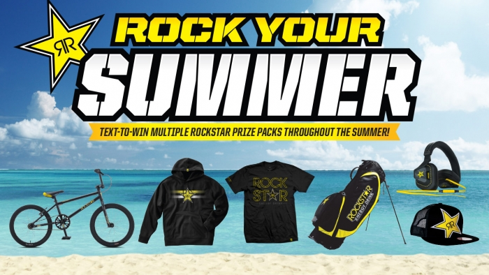 ROCKSTAR ROCK YOUR SUMMER SWEEPSTAKES