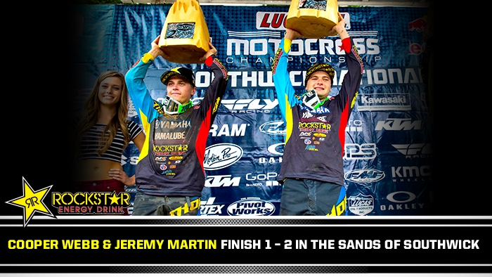 Webb and Martin 1st and 2nd at Southwick