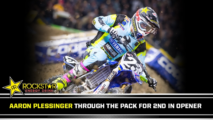 Aaron Plessinger 2nd at Anaheim 1