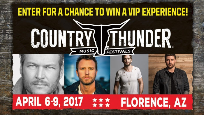 ROCKSTAR COUNTRY THUNDER SWEEPSTAKES