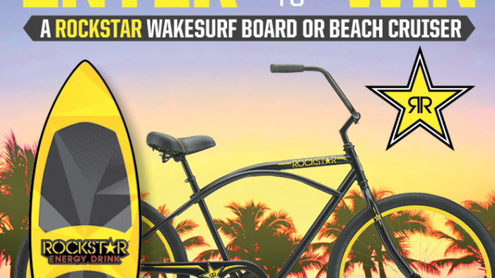 ROCKSTAR & COLONIAL SWEEPSTAKES