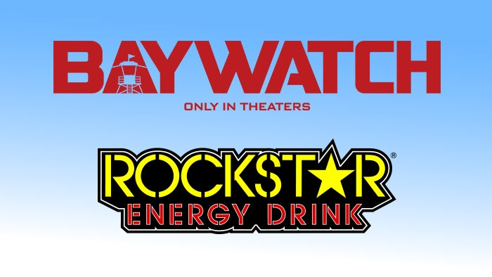 "ROCKSTAR ""BAYWATCH"" MOVIE TICKET SWEEPSTAKES"