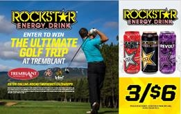 ROCKSTAR & QUICKIE/TREMBLANT GOLF WEEKEND CONTEST