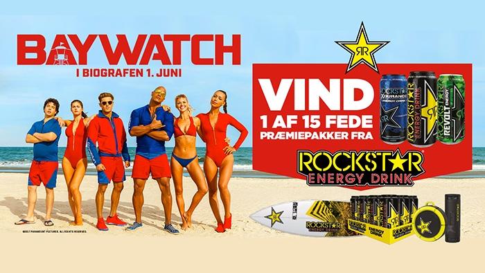 Rockstar & Baywatch Movie Competition