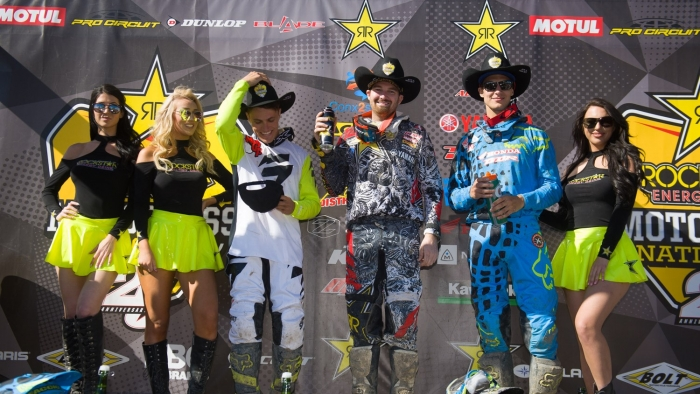 Goerke snares MX1 overall in Calgary - Rockstar Energy Drink