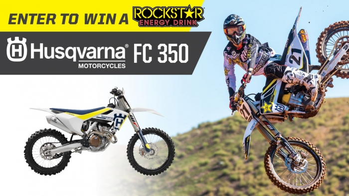 ROCKSTAR & GREEN VALLEY HUSQVARNA SWEEPSTAKES