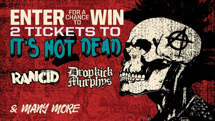 ROCKSTAR IT'S NOT DEAD SWEEPSTAKES