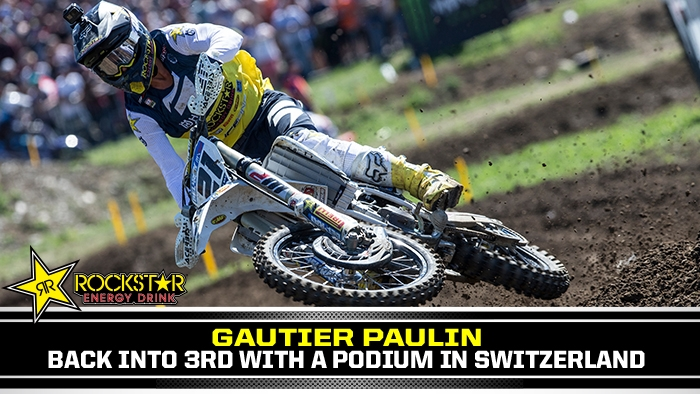 2nd Overall for Paulin in Switzerland