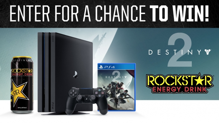 ROCKSTAR AND SHELL RM DESTINY 2 SWEEPSTAKES