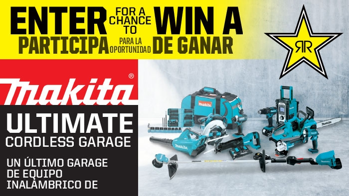 ROCKSTAR & EL RANCHO MAKITA SWEEPSTAKES