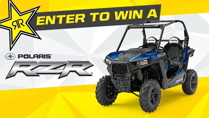 ROCKSTAR & AMA POLARIS SWEEPSTAKES