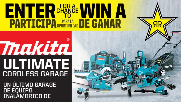ROCKSTAR & LOWES MAKITA SWEEPSTAKES