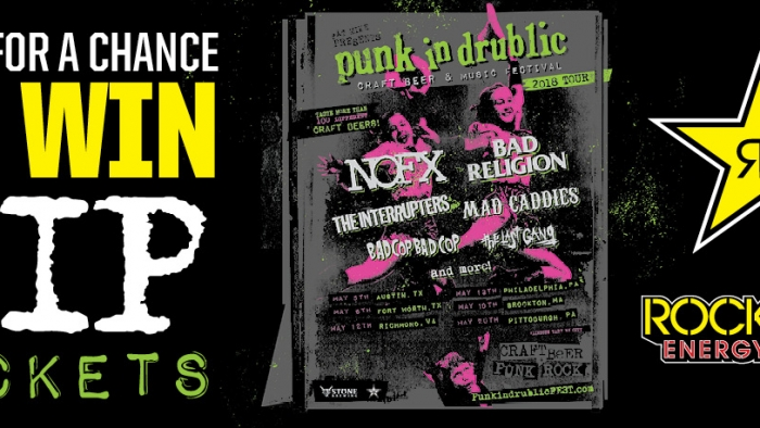 ROCKSTAR PUNK IN DRUBLIC FT WORTH SWEEPSTAKES