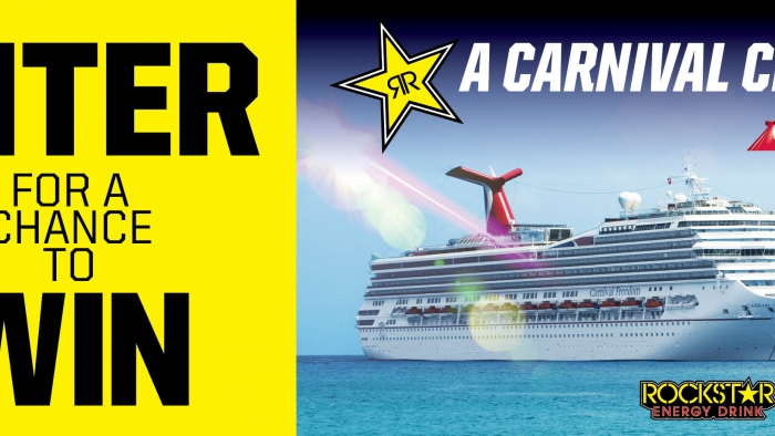 ROCKSTAR & BASHAS CARNIVAL CRUISE SWEEPSTAKES