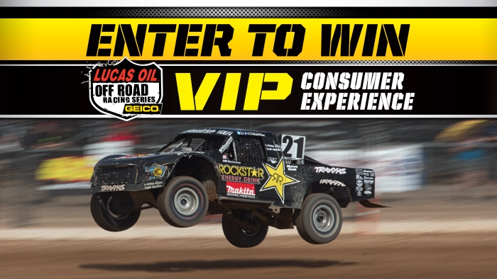 ROCKSTAR & QT OFF ROAD SWEEPSTAKES