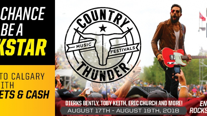 ROCKSTAR & CIRCLE K WEST COUNTRY THUNDER FLYAWAY CONTEST