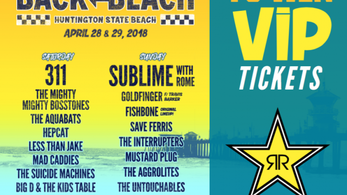 ROCKSTAR BACK TO THE BEACH SWEEPSTAKES