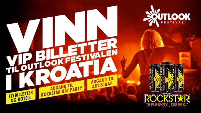 VINN VIP BILLETTER TIL OUTLOOK FESTIVALEN I KROATIA