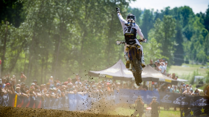 Goerke strikes again at Round 2 of the Rockstar Energy MX Tour  with another 2nd overall in 450 class