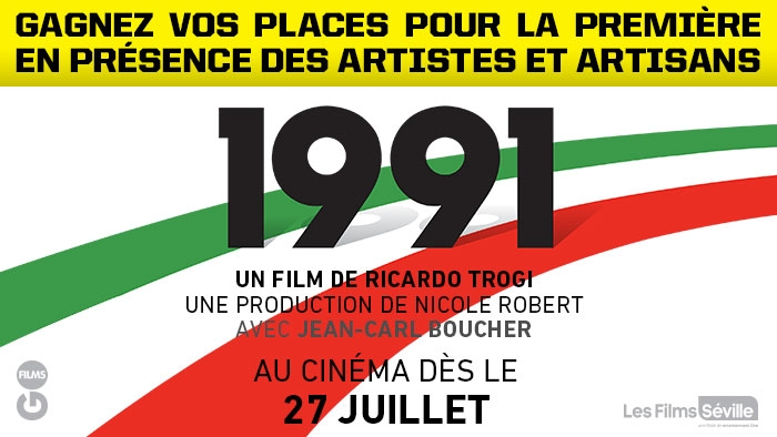 ROCKSTAR & PROVI-SOIR MOVIE 1991 CONTEST