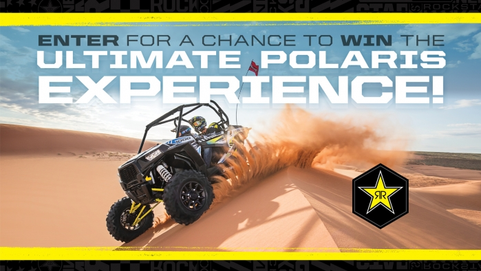 ROCKSTAR & MCX POLARIS CAMP RZR SWEEPSTAKES