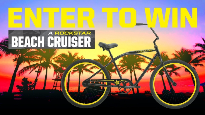ROCKSTAR AND MOLLER BEACH CRUISER SWEEPSTAKES