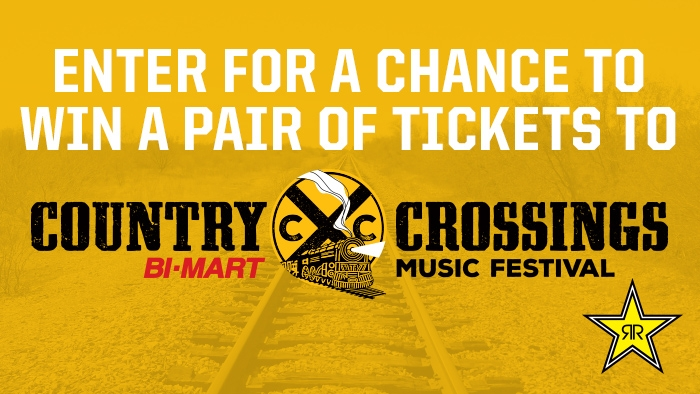 ROCKSTAR COUNTRY CROSSING SWEEPSTAKES