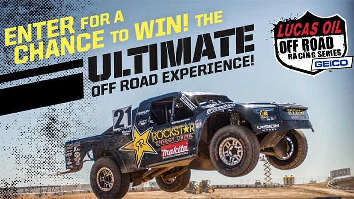 ROCKSTAR & UNITED PACIFIC OFF ROAD SWEEPSTAKES