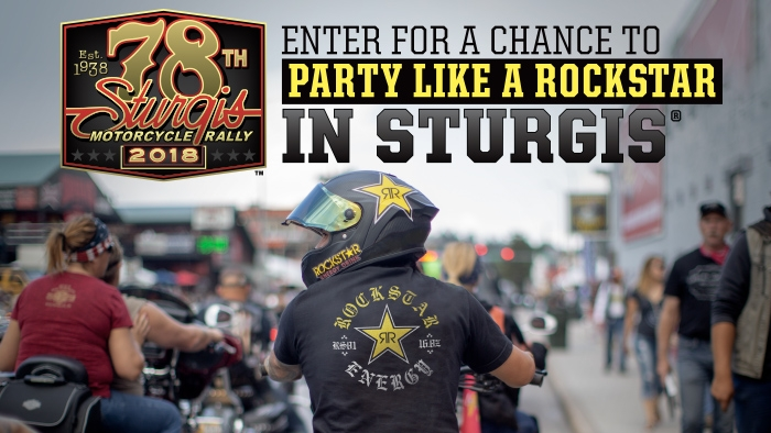 ROCKSTAR & COMMON CENTS STURGIS EXPERIENCE SWEEPSTAKES OFFICIAL RULES