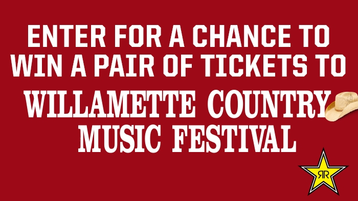 ROCKSTAR WILLAMETTE COUNTY COUNTRY MUSIC FESTIVAL SWEEPSTAKES