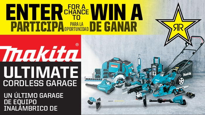 ROCKSTAR & QT MAKITA SWEEPSTAKES