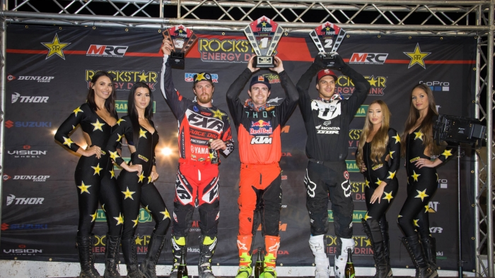 Nicoletti grabs third place podium finish at Delaware Supercross